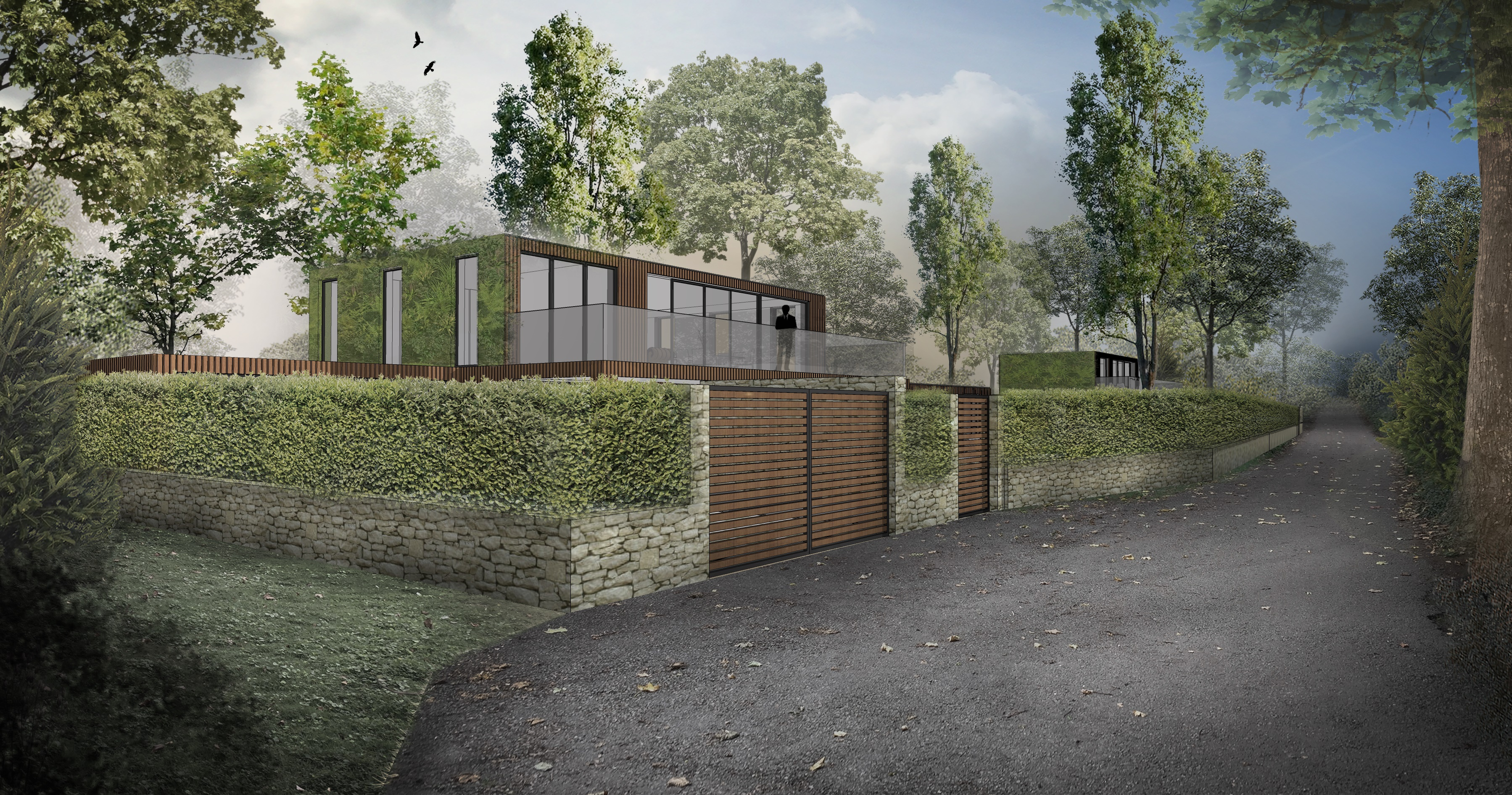 </p> <p>Find your ideal home design pro on designfor-me.com - get matched and see who's interested in your home project. Click image to see more inspiration from our design pros</p> <p>Design by James, architect from South Bucks, South East</p> <p>#architecture #homedesign #modernhomes #homeinspiration #timbercladding #selfbuilds #selfbuildinspiration #selfbuildideas #granddesigns #roofgarden #roofterrace </p> <p>