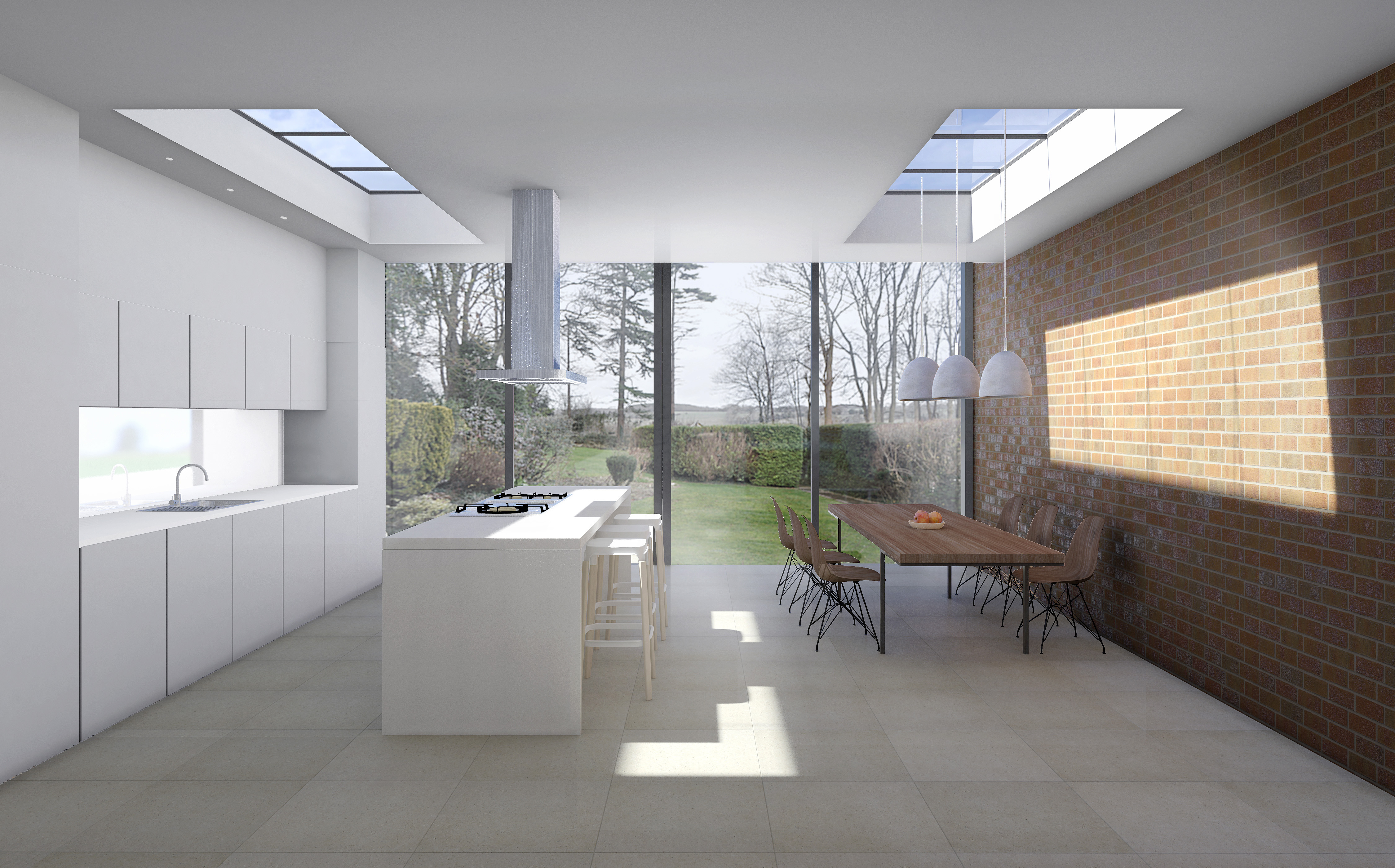 </p> <p>Find your ideal home design pro on designfor-me.com - get matched and see who's interested in your home project. Click image to see more inspiration from our design pros</p> <p>Design by Ayca, Interior designer from Wandsworth, London</p> <p> #interiordesign #interiors #homedecor #homeinspiration #extensions #extensiondesign #extensioninspiration #extensionideas #houseextension #exposedbrick #skylights #rooflights </p> <p>