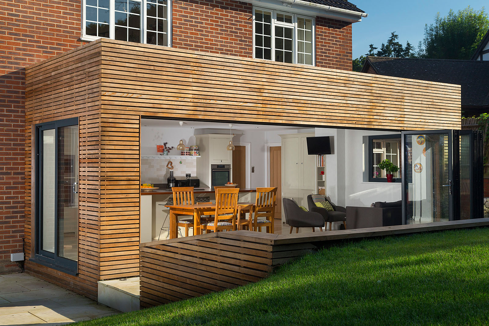</p> <p>Find your ideal home design pro on designfor-me.com - get matched and see who's interested in your home project. Click image to see more inspiration from our design pros</p> <p>Design by Daniel, architectural designer from Tunbridge Wells, South East</p> <p>#architecture #homedesign #modernhomes #homeinspiration #extensions #extensiondesign #extensioninspiration #extensionideas #houseextension #timbercladding #bifolddoors #bifolds </p> <p>